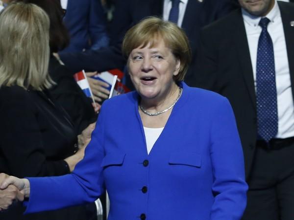Германският канцлер Ангела Меркел заяви в Загреб след среща с