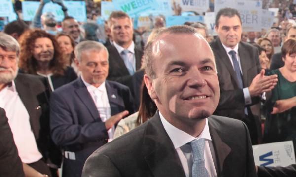Манфред Вебер се зарече: Ще работя за България в Шенген!