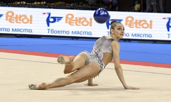 Боряна Калейн с бронз на топка в Баку