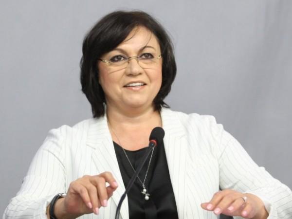 Червената шефка Корнелия Нинова отново нападна премиера Бойко Борисов като