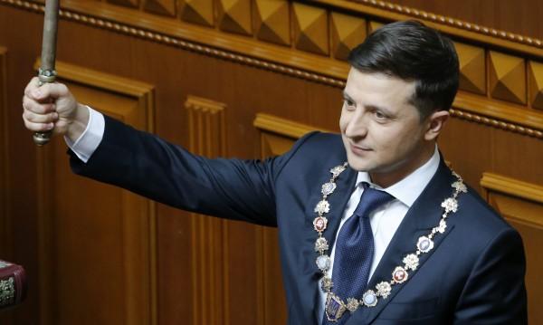 Зеленски положи клетва като президент на Украйна