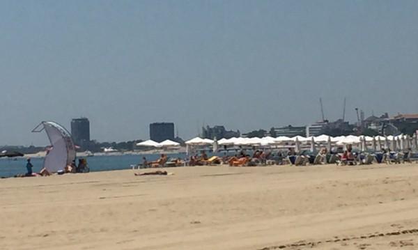 Лятото е все по-близо, спасителите на пост в Слънчев бряг