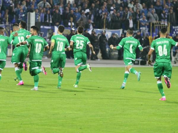 Лудогорец победи с 2:0 Ботев в Пловдив, но не успя