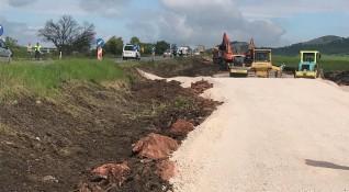 Започна строителството на магистрала