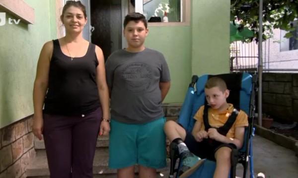 Нов дом за самотна майка на дете с церебрална парализа