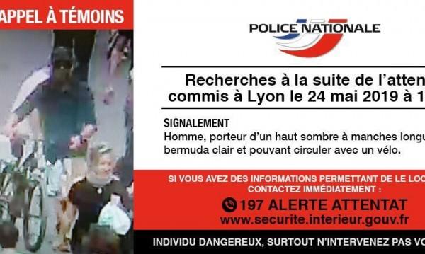 Полицията публикува снимка на заподозрения за атентата в Лион