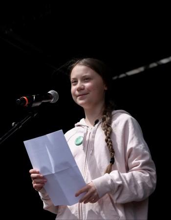 Замърсяването продължава, заяви Грета Тунберг в Дания