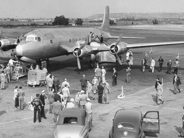 Може би си мислите, че първият президентски самолет Air Force