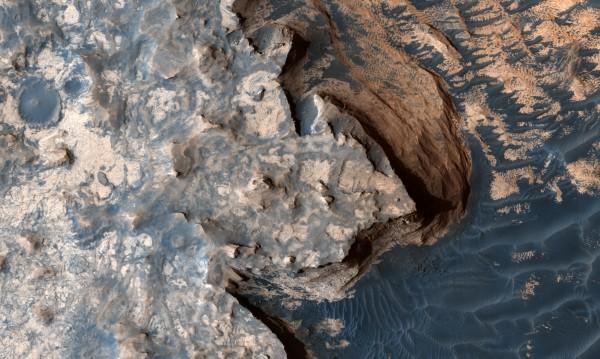 Откриха уникален феномен на Марс
