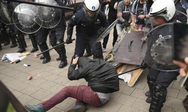 Неуредици и протест на жълти жилетки по време на вота в Белгия