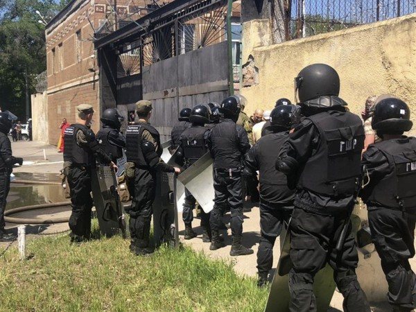 Въдворените в Южната наказателна колония в украинския град Одеса затворници