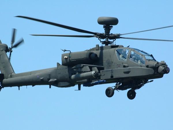 Военен хеликоптер се разби в западната част на Украйна. На