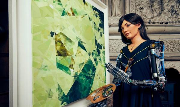 Запознайте се с Аи-Да: Тя е  роботът художник, добър колкото великите творци