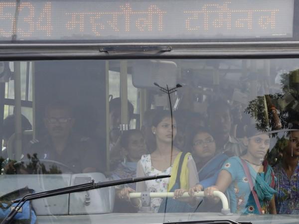 Снимка: Безплатен транспорт за жените в Делхи - за по-добра сигурност