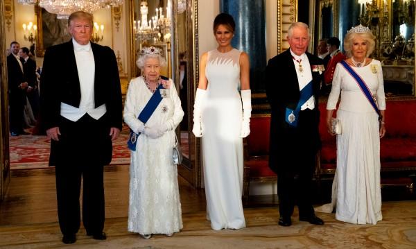 Тръмп за Елизабет II: Тя е велика, велика жена!