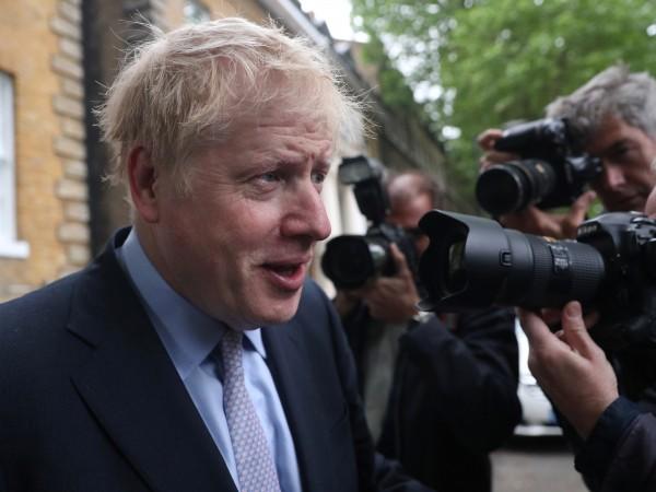 Бившият британски външен министър Борис Джонсън изглежда до такава степен