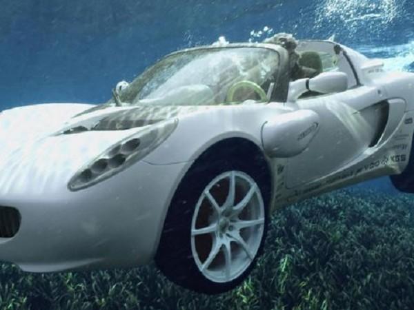 От автомобилната компания Tesla вперват взора си и към водата.