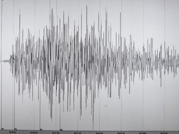 Земетресение с магнитуд 3,8 е регистрирано на територията на Северна