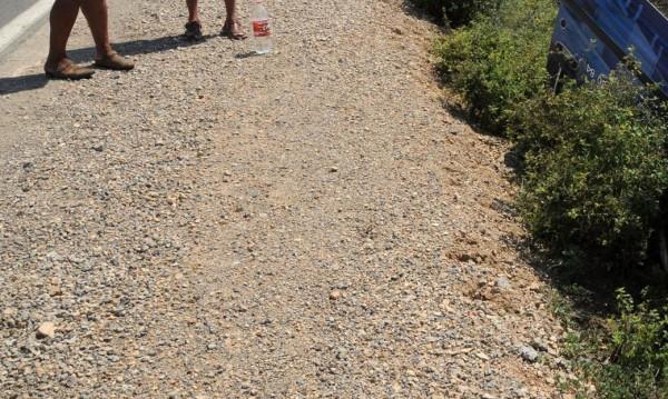 Откриха труп на велосипедист в канавката на пътя за Маказа