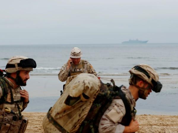 Когато НАТО провежда учения в Балтийско море, Русия винаги е
