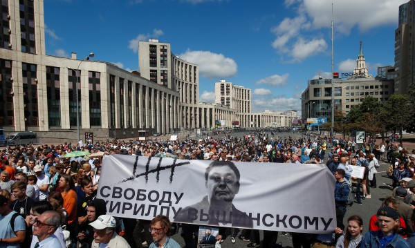 Нови протести в Русия за свободата на словото