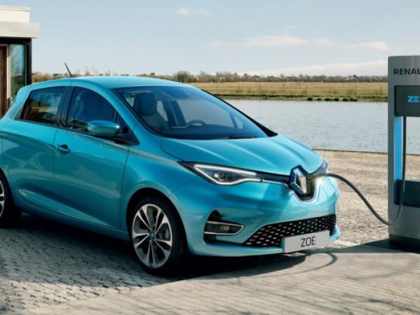 Renault показа обновена версия на електрическия си хечбек Zoe, който