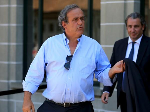 Футболната легенда и бивш президент на УЕФА Мишел Платини е