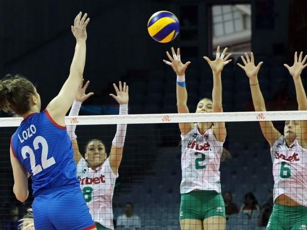 Националният отбор на България по волейбол за жени постигна втора