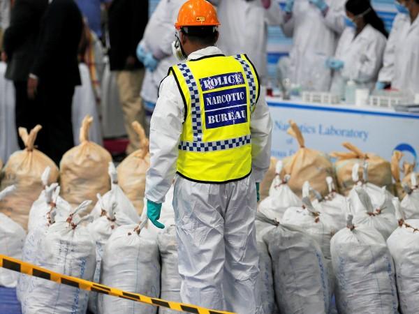 Властите в САЩ заловиха 16,5 тона кокаин на стойност над