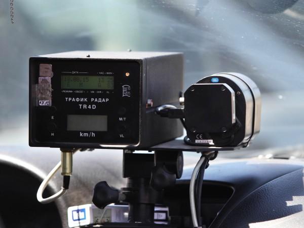 От днес Пътна полиция започва със засилени проверки за скоростта,