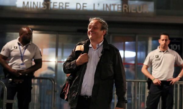 Пуснаха на свобода бившия президент на УЕФА Платини