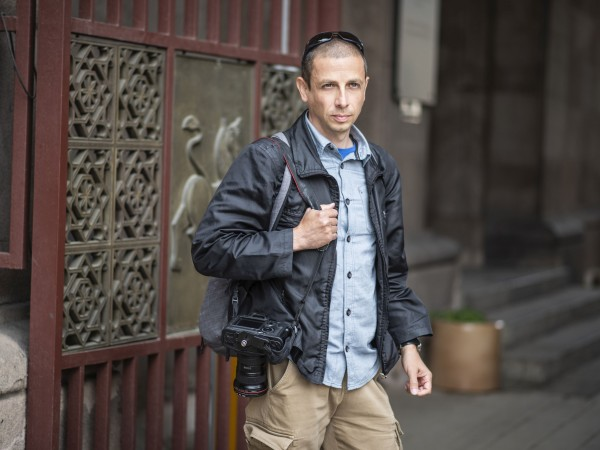 Фоторепортерът Димитър Кьосемарлиев се занимава с фотография от 25 години.