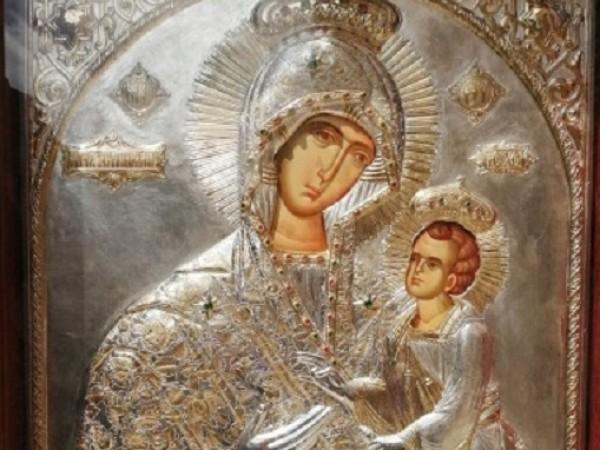 "Чудотворната икона на ""Св. Богородица Скоропослушница (Дохиярска)"" ще пристигне в"