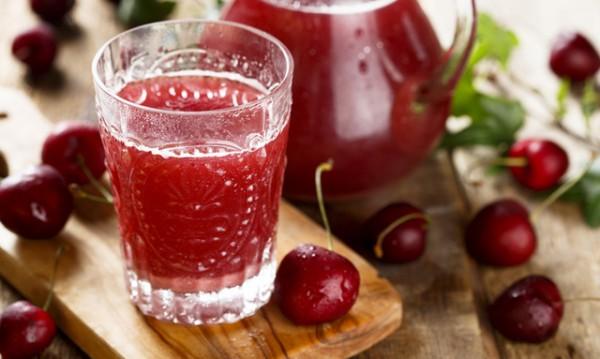 Пийте сок от череши при подагра и високо кръвно