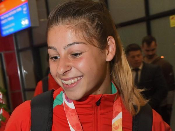 Родната лекоатлетка Александра Начева отново се окичи със златен медал