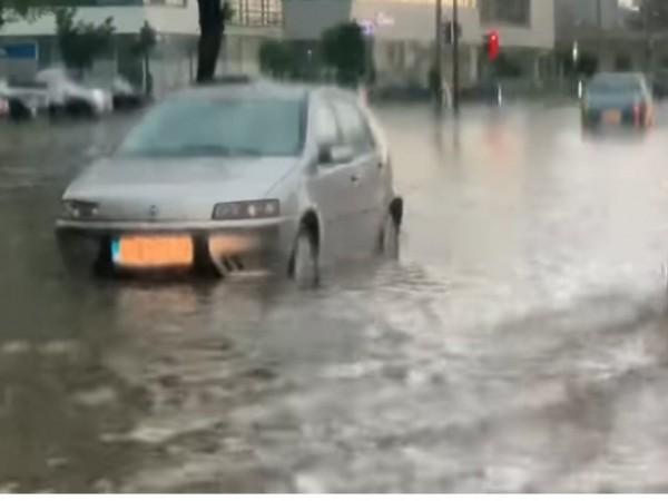 Проливен дъжд, излял се вчера в сръбската столица, предизвика транспортен