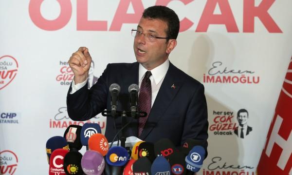 Окончателен резултат: Имамоглу печели вота в Истанбул с 54,21%