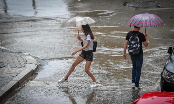 Оранжев код за валежи в 4 области на страната