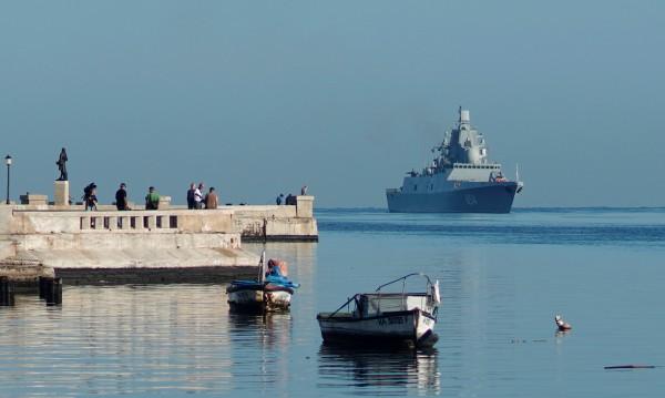 Руска военноморска група е в пристанището на Хавана