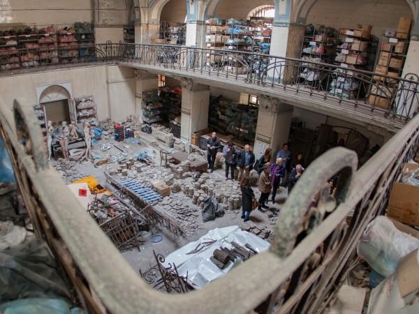 Възстановяване на част от Централната минерална баня в София като