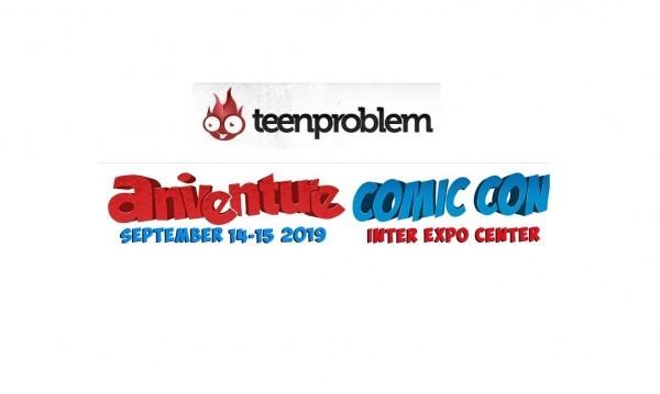 Играйте с Teenproblem и спечелете билети за Aniventure Comic Con