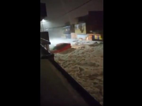 В мексиканския град Гуадалахара и околностите му се изсипа градушка,
