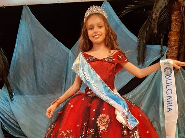 """9-годишната Бриана Петрова от Варна извоюва титлата GRAND PRIX """"Мини"""