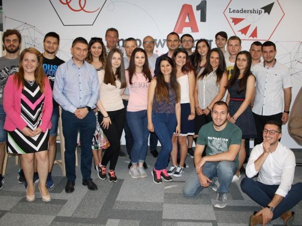 """А1 стартира """"A1 лятна академия"""" – нова инициатива, която ще"""