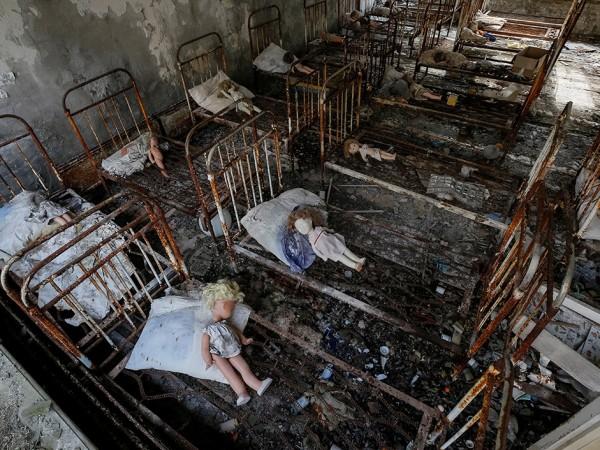 """Някои от събитията, които се случват след избухването на """"Чернобил"""","""
