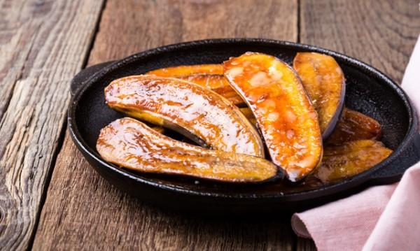 Рецептата Dnes: Банан на тиган с масло и канела