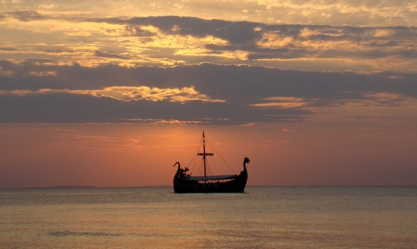 Знатни викинги били погребани с лодките си