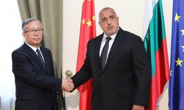 Борисов кани китайци да инвестират у нас: Ценим ви високо!