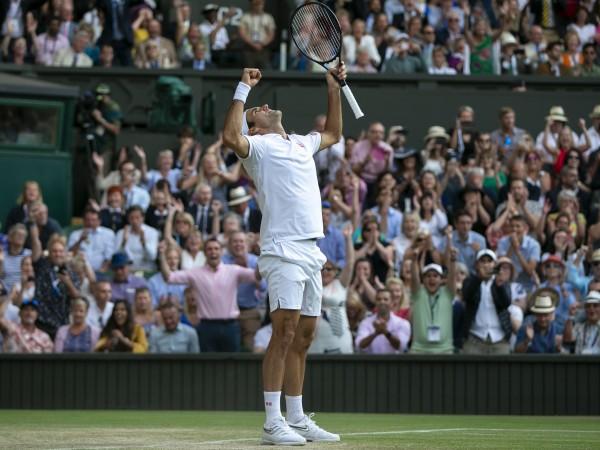 Осемкратният шампион на Уимбълдън Роджър Федерер се класира на финала