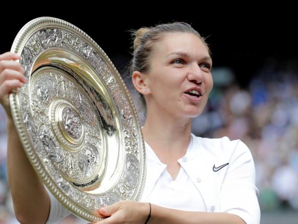 Румънката Симона Халеп е новата шампионка на Уимбълдън, след като